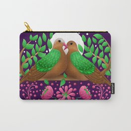 Emerald Dove by SCD Balaji Carry-All Pouch