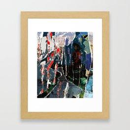 Trails/Trials Framed Art Print