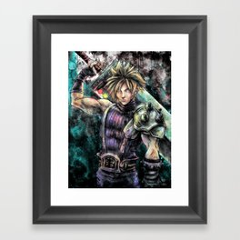 Hero of the Lifestream Framed Art Print