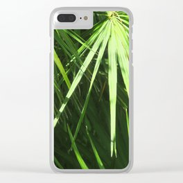Lost in Green Clear iPhone Case