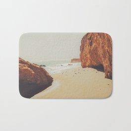 Beach Day - Ocean, Coast - Landscape Nature Photography Bath Mat