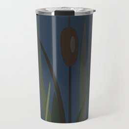 Reed On The Lake Travel Mug