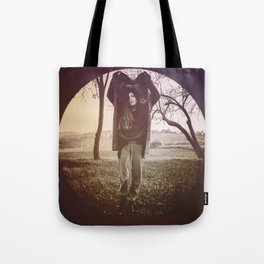 INSIDE A CIRCLE OF EMOTIONS. Tote Bag