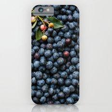 Blueberries Slim Case iPhone 6s