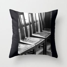 chairs Old Throw Pillow