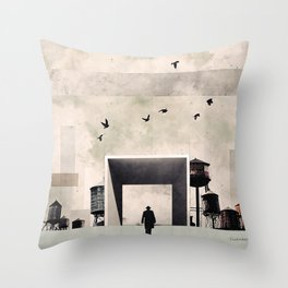 I am going to work Throw Pillow