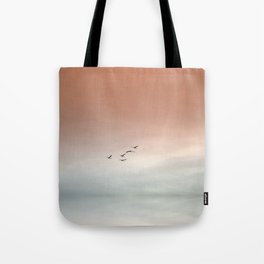 Flight of the Swans Tote Bag