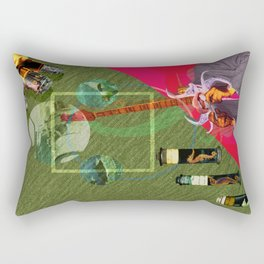 The Illuminated One Man Band Rectangular Pillow