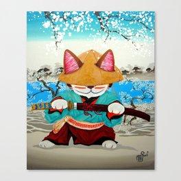 Samurai Friday Canvas Print