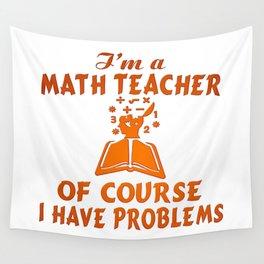 Math Teacher Wall Tapestry