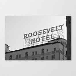 The Roosevelt Canvas Print