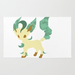 Leafeon; Forest  Rug