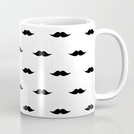 Moustache Pattern Coffee Mug