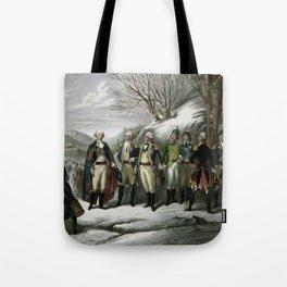 Washington and His Generals Tote Bag