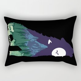 Pride of the Forest Rectangular Pillow