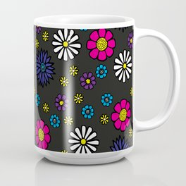 Summery seamless flowers Coffee Mug