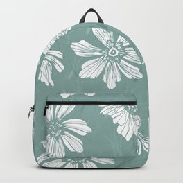 Floral seamless pattern Backpack