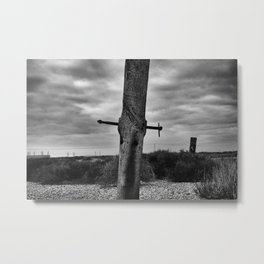 Dungeness 2 Metal Print