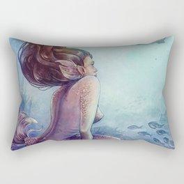 Siren of the reef Rectangular Pillow