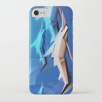 sharks iPhone & iPod Cases featuring Sharks by Deze Dezines