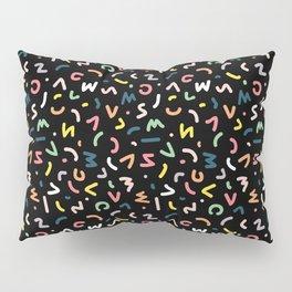 Neon Lights Pillow Sham
