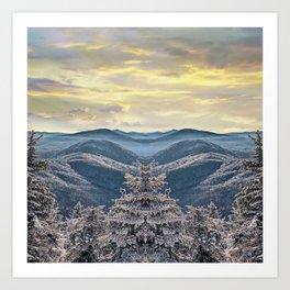 Mountain Views Art Print