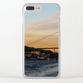 Bosphorus Bridge Clear iPhone Case