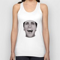 american psycho Tank Tops featuring American Psycho by Alexia Rose