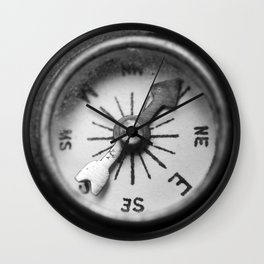 discovering my compass Wall Clock