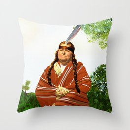 Chickasaw Throw Pillow