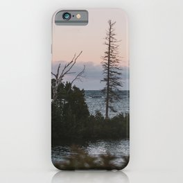 The View From Copper Harbor iPhone Case