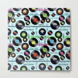 Vinyl Love Metal Print