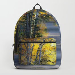 Itasca in the fall Backpack