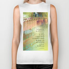 Serenity Prayer Long Bridge Biker Tank