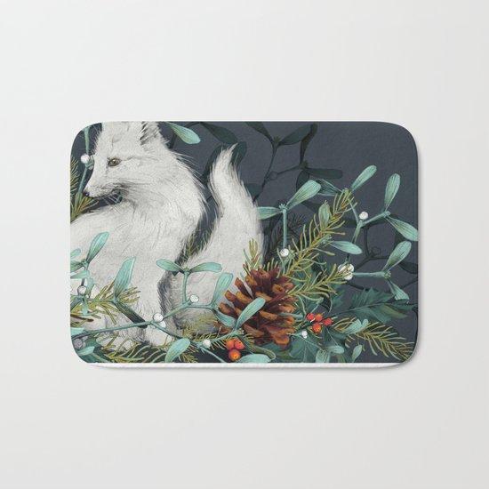 Arctic Fox Bath Mat