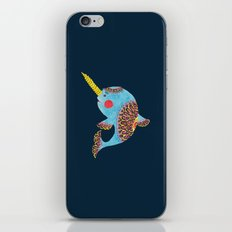 The Narwhal iPhone & iPod Skin