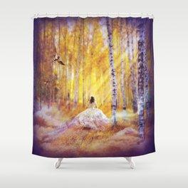 Magic Follows Shower Curtain
