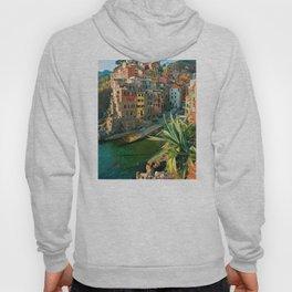 Italy. Cinque Terre - canals Hoody