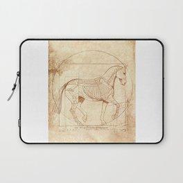Da Vinci Horse In Piaffe Laptop Sleeve