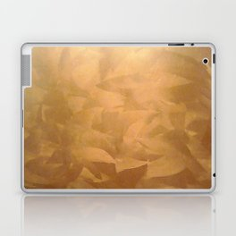 Brushed Copper Metallic - Beautiful - Rustic Glam - Fancy Faux Finishes - Metallic Paint Laptop & iPad Skin
