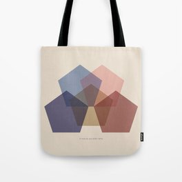 Rose Five Tote Bag