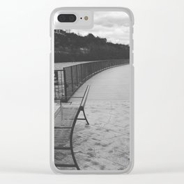 Branson Clear iPhone Case