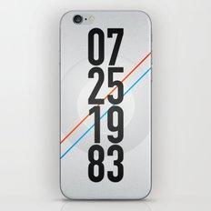 07/25/1983 iPhone & iPod Skin