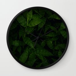 dark jungle Wall Clock