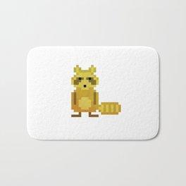 Pixel Racoon Bath Mat