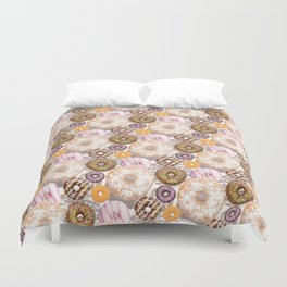 Delicious Donuts Duvet Cover