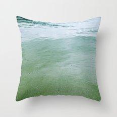green 102 Throw Pillow