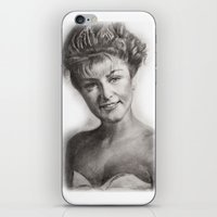 laura palmer iPhone & iPod Skins featuring TWIN PEAKS - LAURA PALMER by William Wong