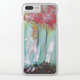 The First Snow Clear iPhone Case