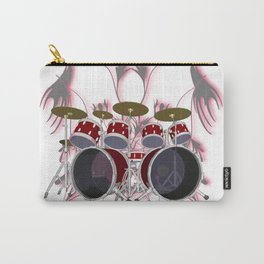 Drum Kit with Tribal Graphics Carry-All Pouch